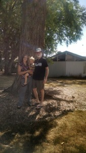 3 generations + tree