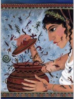 "Hope"" in ancient Greek: Pandora and the Greek goddess Elpis – Cherice Bock"