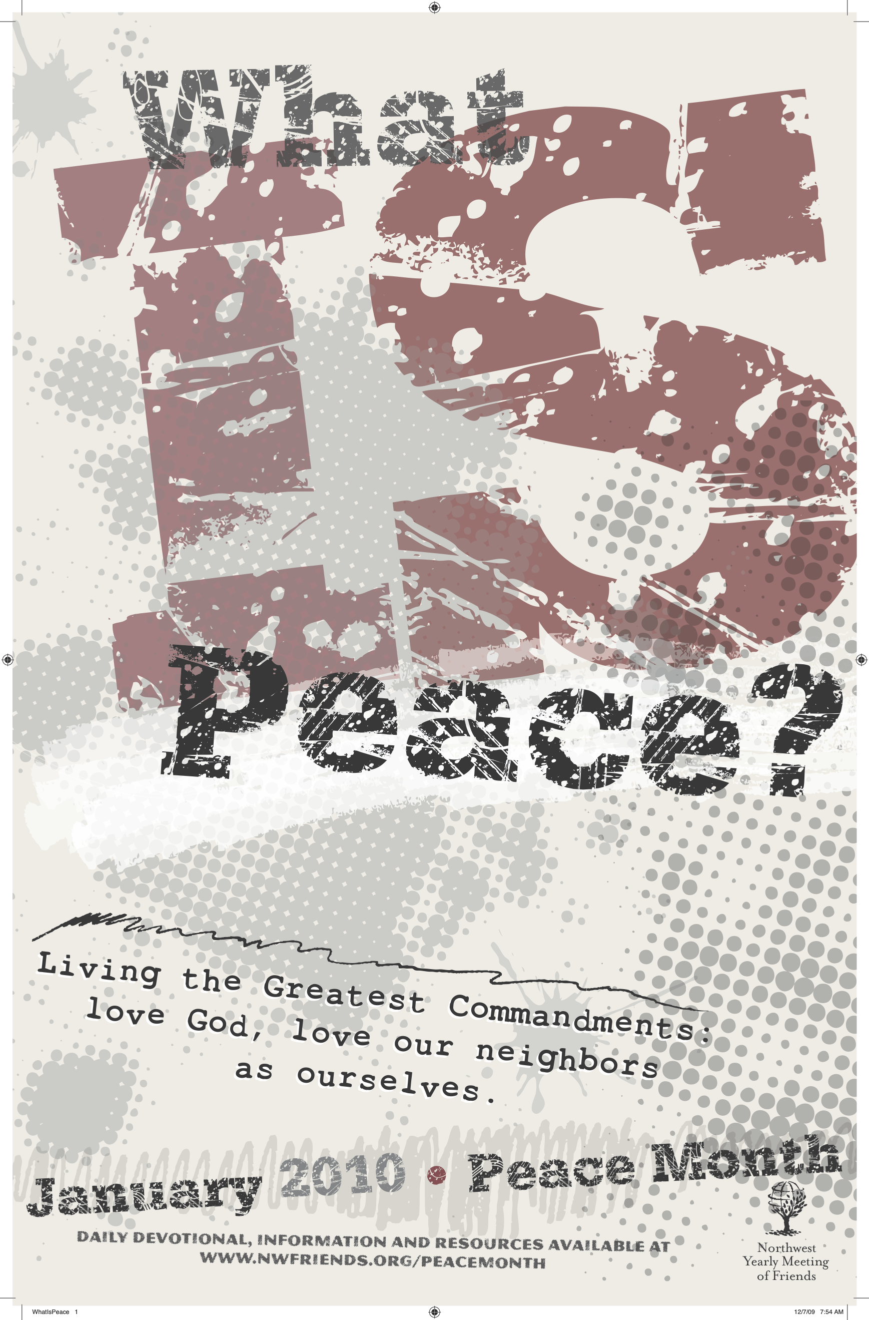 What Is Peace Poster.png